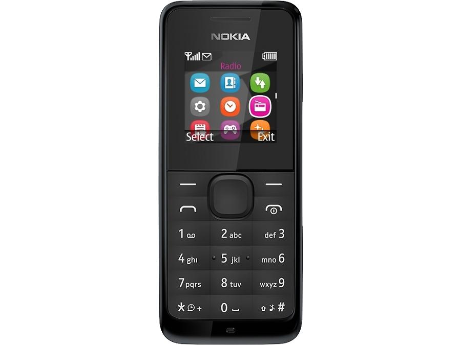 Телефон Nokia 105 Black