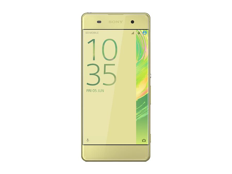 Смартфон Sony Xperia XA F3111 LTE Lime Gold